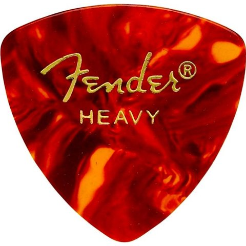 Fender 346 Heavy Tortoise Shell Picks 12 pk