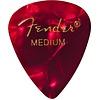 Fender 351 Medium Red Moto Picks 12 pk