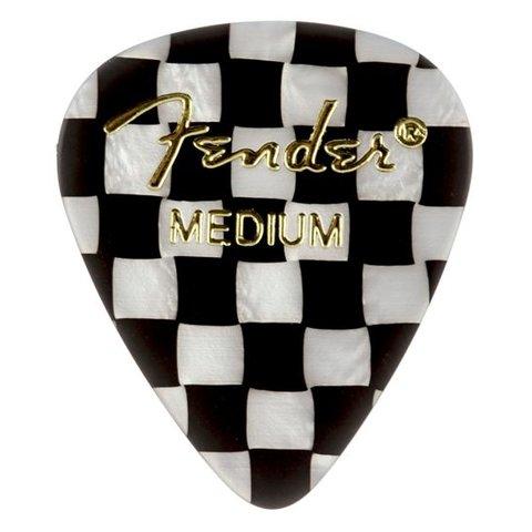 Fender 351 Medium Checker Picks 12 pk