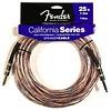 "Fender California Series Speaker Cable 25' 14GA 1/4"" to 1/4"""