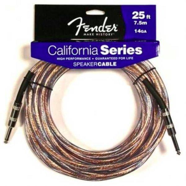 """Fender Fender California Series Speaker Cable 25' 14GA 1/4"""" to 1/4"""""""