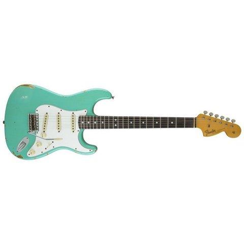 1967 Heavy Relic Stratocaster, Rosewood Fingerboard, Sea Foam Green