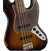Road Worn '60s Jazz Bass, Pau Ferro Fingerboard, 3-Color Sunburst