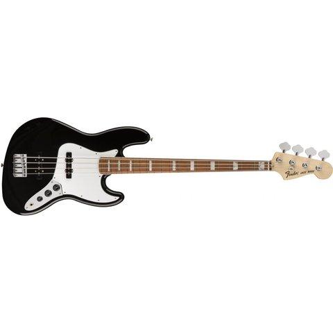70s Jazz Bass, Pau Ferro Fingerboard, Black