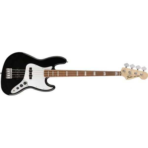 Fender 70s Jazz Bass, Pau Ferro Fingerboard, Black