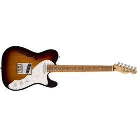 Fender Deluxe Telecaster Thinline, Pau Ferro Fingerboard, 3-Color Sunburst