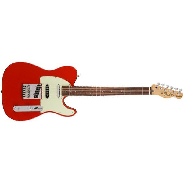 Fender Deluxe Nashville Telecaster, Pau Ferro Fingerboard, Fiesta Red