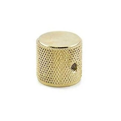 Telecaster/Precision Bass Knobs, Knurled Gold (each)