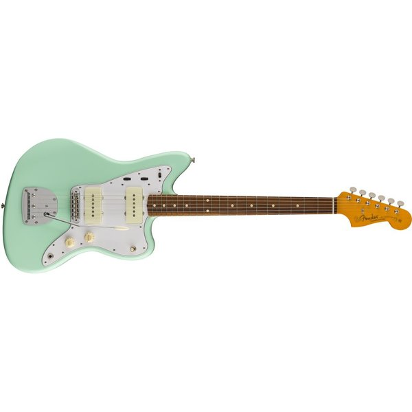 Fender 60s Jazzmaster Lacquer, Pau Ferro Fingerboard, Surf Green