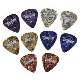 Taylor Taylor Picks, Marble Assortment, Med (10)