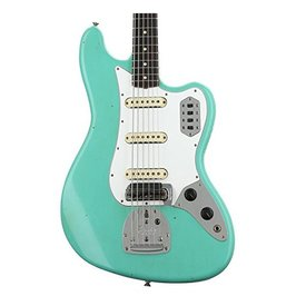 Fender Custom Shop 60s Journeyman Relic Bass VI, Aged Sea Foam Green