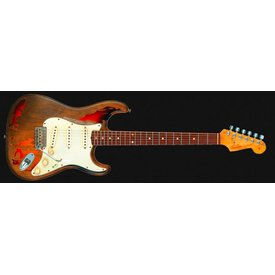 Fender Custom Shop Rory Gallagher Signature Stratocaster Relic, Rosewood Fingerboard, 3-Color Sunburst