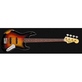 Fender Custom Shop Jaco Pastorius Tribute Jazz Bass, Rosewood Fingerboard, 3-Color Sunburst