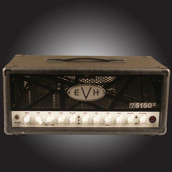 EVH 5150III 50W 6L6 Head, Black, 120V - Used