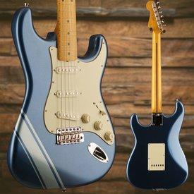 Fender FSR Traditional 50s Strat Maple Fingerboard Lake Placid Blue with Ice Blue Metallic Stripes