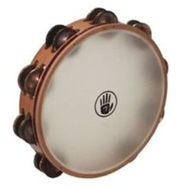 Black Swamp Percussion LLC BSP 10'' Double Row, Aged Brass, Synthetic Head Tambourine