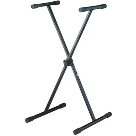 QuikLok Single Brace Single Tier Keyboard Stand