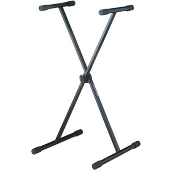 KMC QuikLok Single Brace Single Tier Keyboard Stand