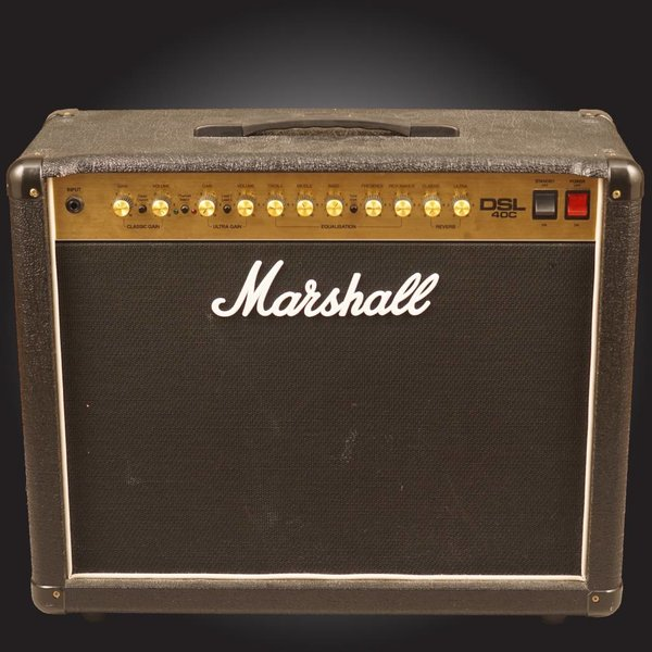 Marshall Marshall DSLR 40W all valve 2 ch 1x12'' combo w/ Res, digital Reverb, Celestion V-type spkr - Used