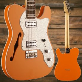 Fender Fender Limited Edition Tele Thinline Super Deluxe Rosewood Orange
