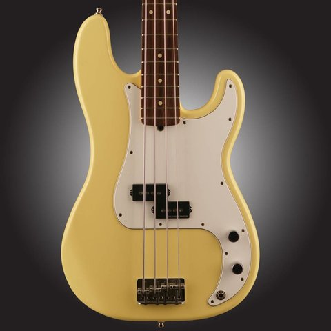 1997 Fender American Precision P Bass Yellow S/N N7211014