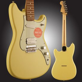 Fender Duo-Sonic HS, Pau Ferro Fingerboard, Canary Diamond