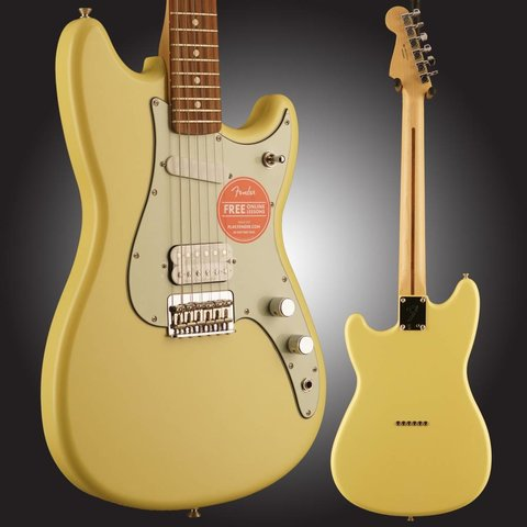 Duo-Sonic HS, Pau Ferro Fingerboard, Canary Diamond