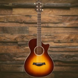 Taylor Taylor 412CE 12-Fret LTD Limited Maple/Sitka, Tobacco Sunburst 3 Piece Back