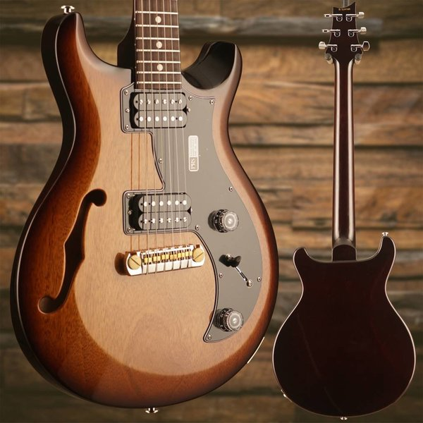 PRS PRS Paul Reed Smith S2 Mira Semi-Hollowbody, Dot Inlay, Rosewood Fngrbd, McCarty Tobacco Sunburst