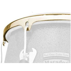 LP LP Series 12 1/2 Cc2 Conga Rim  Gold LP736B