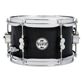 PDP PDP Concept Snare 6X10, Black Wax, Cr Hw Black Wax PDSN0610BWCR