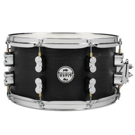 PDP PDP Concept Snare 7X13, Black Wax, Cr Hw Black Wax PDSN0713BWCR