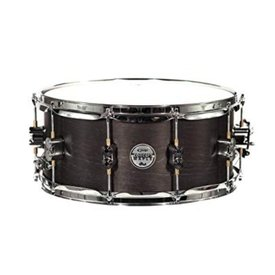 PDP PDP Concept Snare 6.5X14, Black Wax, Cr Hw Black Wax PDSN6514BWCR
