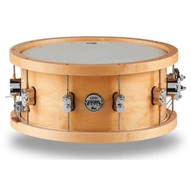 PDP PDP Concept Series Thick Wd Hp Maple Snr, 5.5X14, Cr Hw Lacquer Custom PDSN5514NAWH