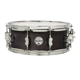 PDP PDP Concept Snare 5.5X14, Black Wax, Cr Hw Black Wax PDSN5514BWCR