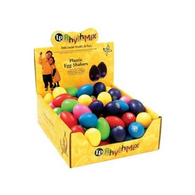 LP LP Rhythmix Egg Shakers 48Ct Mix Color LPR001BD48-I