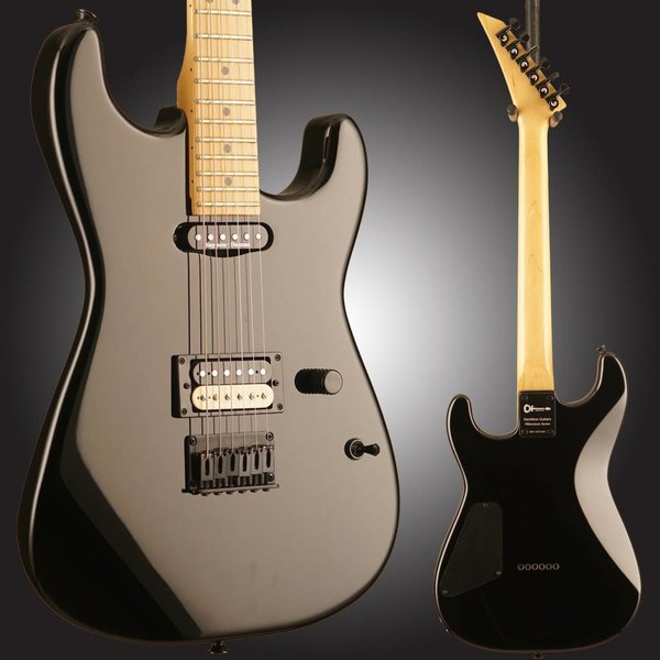Charvel Charvel San Dimas Black HSS w/ Case - Parts Guitar - Used