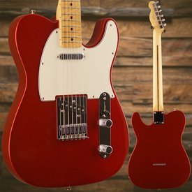 Fender Standard Telecaster, Maple Fingerboard, Candy Apple Red