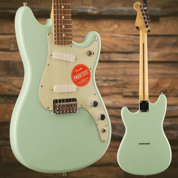 Fender Duo-Sonic SS, Pau Ferro Fingerboard, Surf Green SN/MX17873636