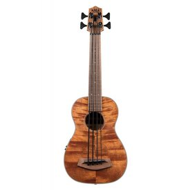 Kala Kala UBASS-SSMHG-C-HH-FS U-Bass Exotic Mahogany Back & Sides Fretted with Bag