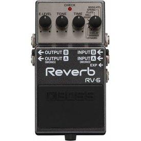 Boss Boss RV6 Stereo Digital Reverb Used