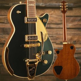 Gretsch Guitars Gretsch G6128TCG Duo Jet with Bigsby, Rosewood Fingerboard, Gold Hardware, Cadillac Green