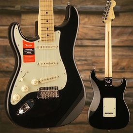 Fender American Pro Stratocaster Left-Hand, Maple Fingerboard, Black