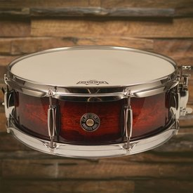 "Gretsch Drums Gretsch Catalina Club 5""x14"" Snare Drum Gloss Antique Burst Jazz - Used"