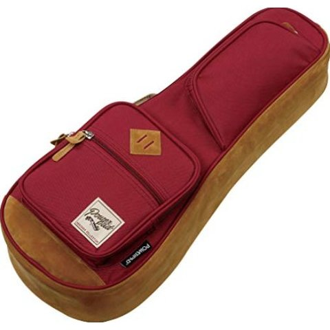 Ibanez IUBS541WR POWERPAD gig bag for Ukulele Soprano Wine Red