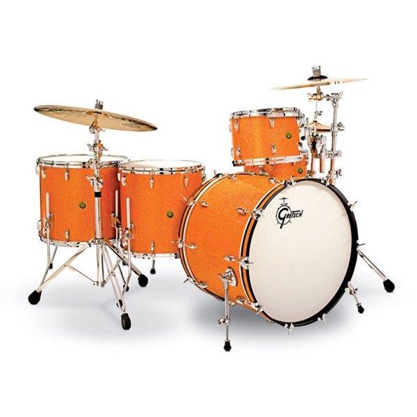 PDP Gretsch Renown 6 pc Shell Pack Custom Lambo Orange - Used