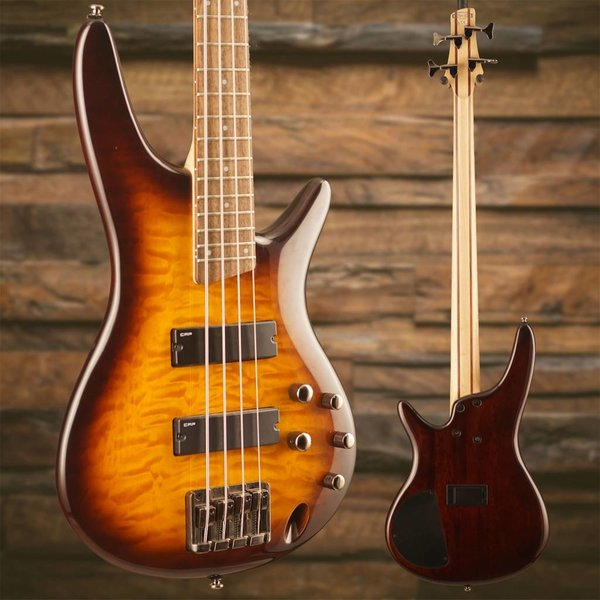 Ibanez Ibanez SR400QMBBT Brown Burst Electric Bass