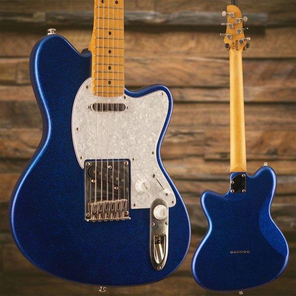 Ibanez Ibanez TM302PMBSP Talman Standard 6str Electric Guitar - Blue Sparkle