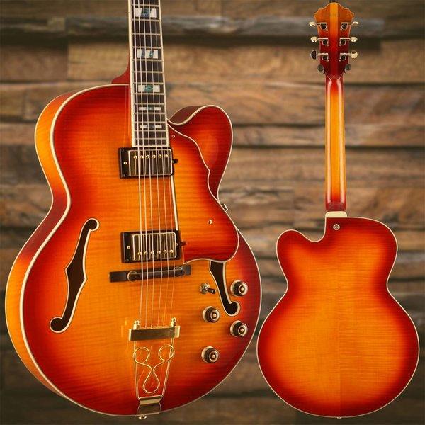 Ibanez Ibanez AF155AWB Artstar Hollowbody Electric Guitar Aged Whiskey Burst w/ Case