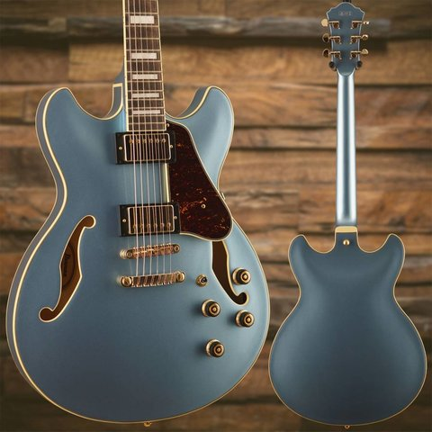 Ibanez AS Artcore Expressionist 6str Electric Guitar - Steel Blue